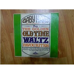 VINYL RECORD - GABY HAAS - THE GOLDEN OLD TIME WALTS FAVORITES - P 251 - condition fair