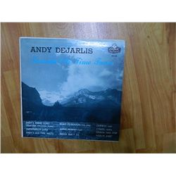 VINYL RECORD - ANDY DEJARLIS - FAVORITE OLD TIME TUNES - EB 60 - condition good