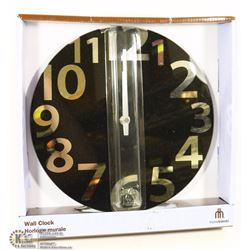 HOME TRENDS 10 INCH WALL CLOCK