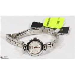 NEW LADIES STAINLESS SEIKO WATCH TAG PRICE $225.00