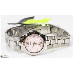NEW LADIES SEIKO STAINLESS WATCH