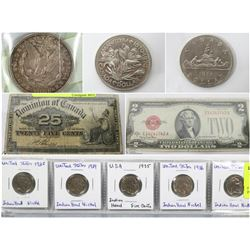 FEATURED ITEMS: COLLECTABLE CASH AND COINS