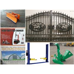 FEATURED ITEMS: ACREAGE GATES , STORAGE BUILDINGS