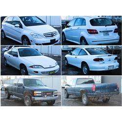 FEATURED ITEMS: VEHICLES LOTS 301-305-310