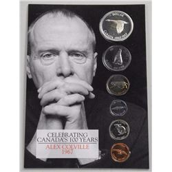 Celebrating Canada's 100 Years - Alex Colville 1967 Coin Set w/ Silver.