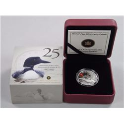 Lucky Loonie - Fine Silver Coin (2012).