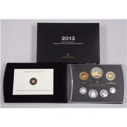 RCM 2013 Proof .9999 Fine Silver Coin Set, 1st Yea