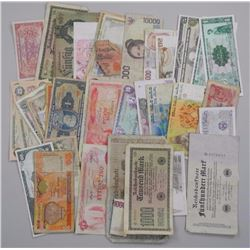 Lot World Bank Notes, Mix Countries.