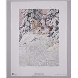 Doug Laird - Litho 'KING OF THE HILL' Signed and N