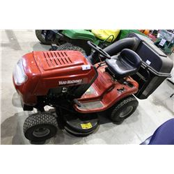 MTD YARD MACHINE RIDE-ON LAWN MOWER - GOOD RUNNING ORDER