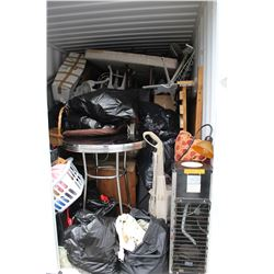 CONTENTS OF A 20FT BIG STEEL BOX UNIT # BSBU284652022G1 **$200 DEPOSIT MUST BE MADE UPON PURCHASE TO