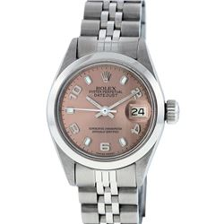 Rolex Stainless Steel DateJust Ladies Watch