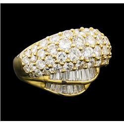 3.10 ctw Diamond Ring - 18KT Yellow Gold
