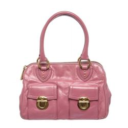 Marc Jacobs Pink Leather Blake Shoulder Handbag
