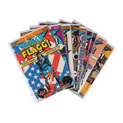 American Flagg! And Amazing Heroes Set of 15 (American Flagg! #1-10, #16-18, #21