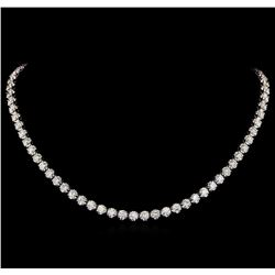 18KT White Gold 16.50 ctw Diamond Necklace