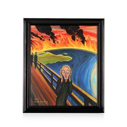 Earth Scream after Munch by Bragg