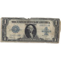 1923 $1 Large Silver Certificate Speelman / White Note
