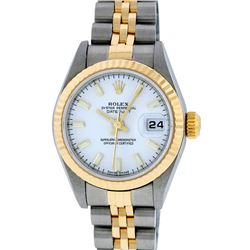 Rolex 18KT Two-Tone DateJust Ladies Watch
