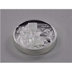 Charles Robert Darwin - .9999 Fine Silver Coin - 'Pied Fort' '2oz' Pure.