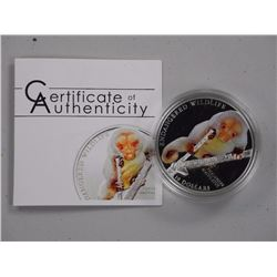 'Spotted Cuscus' 10 Dollars 2010 - .925 Silver Coin L.E./2500.