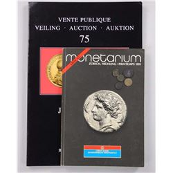 5x Ancient Coins (383 - 408) 'Arcadius' w/Reference Guides.