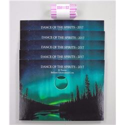 Original Mint Rolls - Two Dollars - Glow in The Dark - Plus 5 Display Boards - Sold Out Coins Only $