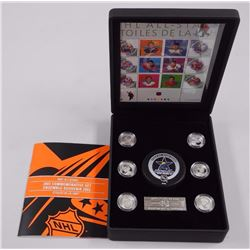 NHL Commemorative Stamps and Medallion Set 2003. (LE)