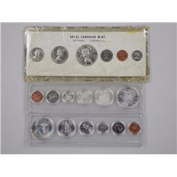 3x Canada Proof Like Silver Coin 1960, 1966, 1967.