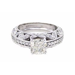 14KT White Gold 2.92ctw Diamond Ring