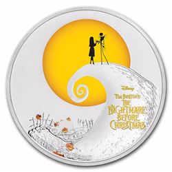 2017 $2 The Night Before Christmas Silver Niue Coin