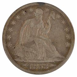 1853-O Seated Liberty Half Dollar Coin