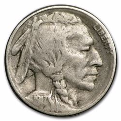 1917-S Buffalo Nickel Coin