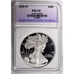 2006-W AMERICAN SILVER EAGLE ENG