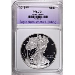 2013-W AMERICAN SILVER EAGLE ENG