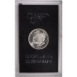 1878 CC MORGAN DOLLAR GSA WITH CARD GEM BU