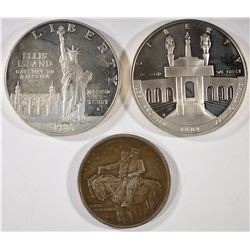 COMMEM. LOT: STONE MTN, OLYMPIC, & STATE LIBERTY