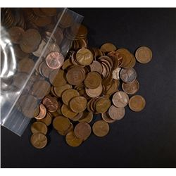 1000 MIX DATE CIRC WHEAT CENTS - VARIOUS