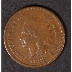 1868 INDIAN HEAD CENT VF  KEY
