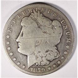 1879-CC MORGAN DOLLAR  VG  KEY
