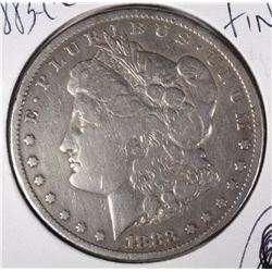 1883-CC MORGAN DOLLAR  FINE  SEMI-KEY
