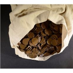 5000 MIX DATE CIRC WHEAT CENTS -