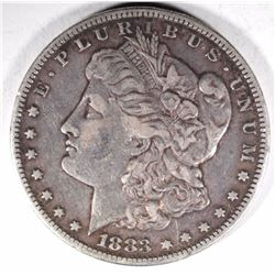1883-S MORGAN DOLLAR, XF BETTER DATE