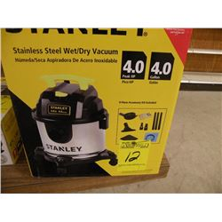 Stanley stainless steel wet/dry vac