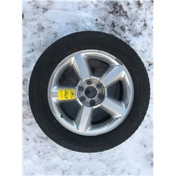 """20"""" Rim with Tire, Rim is scratched"""