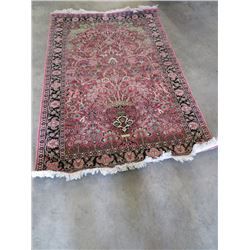 "Floor Rug from India 30''x60"" approx"