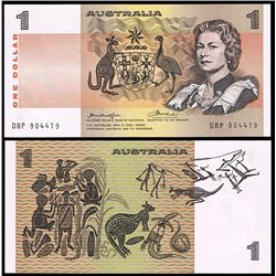 Australia, QEII, One Dollar, Knight/Wheeler (R.76bL), 1976, Test Note, DBP/904419