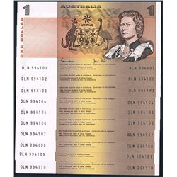 Australia, QEII, One Dollar, Johnston/Stone (R.78), 1982, aUnc