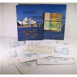 Australia, NPA, Two Dollars, Johnston/Fraser, 1985, Folders, Show Issues