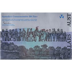Australia, NPA, Ten Dollars, Johnston/Fraser, Bicentennial, Staff Folder, 1988